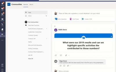 What's new in Microsoft Teams and SharePoint – May 2020